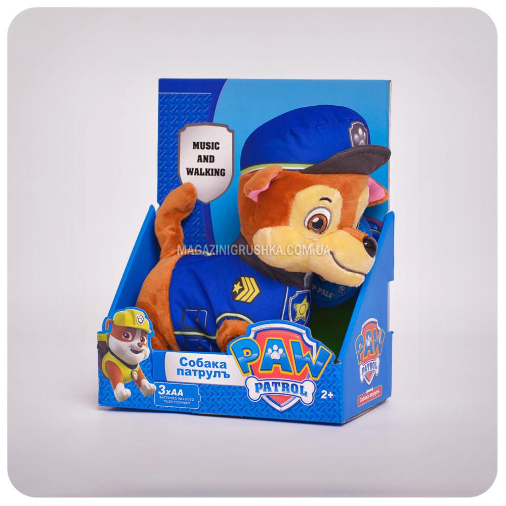 Интерактивная мягкая игрушка Чейз «Щенячий патруль» Чейз