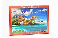 Пазл Сastorland 1000 элементов (68*47 см) - Рай дельфинов (С-103508)