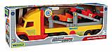 Машина «Middle truck» (эвакуатор с двумя болидами Формула-1), фото 2