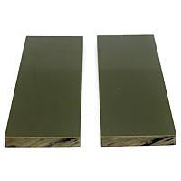 Накладки G10 для рукояті ножа Olive (оливковий) 125х40х8.3мм (пара), фото 1