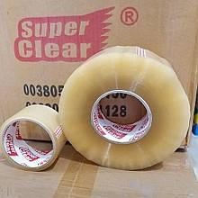 Скотч пакувальний МЕГА Super Clear 500 метрів Х 50мкм Х 48мм