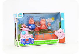 Дитячий ігровий набір «Машина і мотоцикл Свинки Пеппы» LQ 920A (2 види)