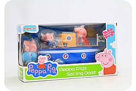 Дитячий ігровий набір «Катер Свинки Пеппы» LQ912A
