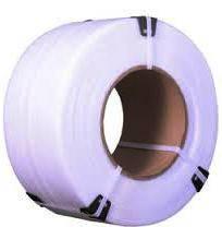 Поліпропіленова стрічка 16 мм х 1,00 мм біла