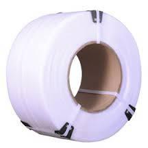 Поліпропіленова стрічка 09055, 9мм х 0,55 мм біла