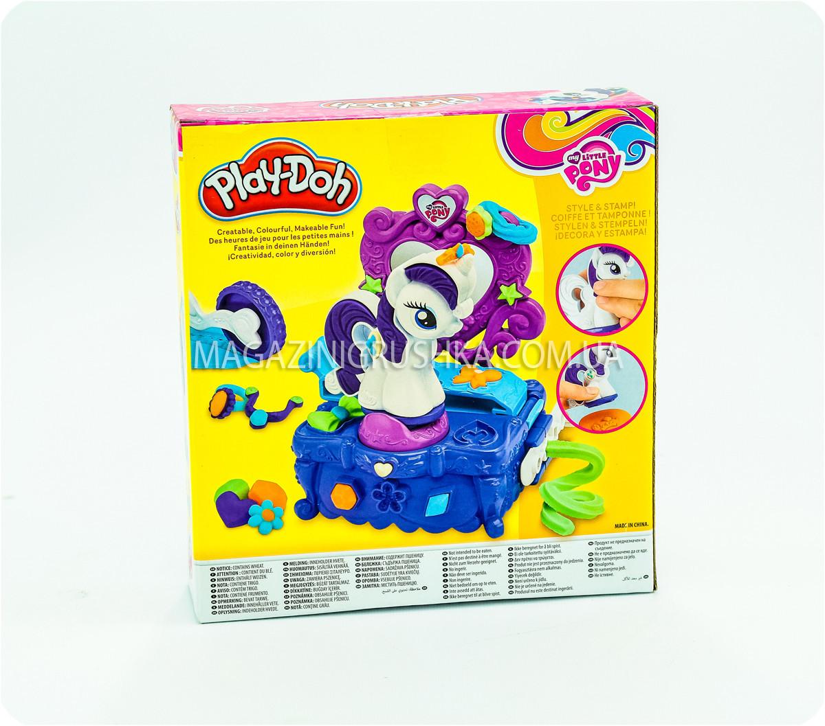 Набор пластилина Play-Doh «Туалетный столик Рарити»