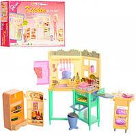 Детская игрушечная мебель Глория Gloria для кукол Барби Кухня 21016. Обустройте кукольный домик, фото 1
