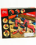 Набор строительных инструментов для детей «Перфоратор с двумя насадками» T1403, фото 2