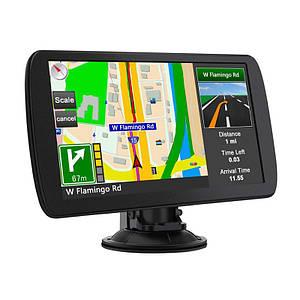 """GPS навігатор 9"""" Lesko J903 CE на WinCE 6.0 для автомобіліста з держателем miniUSB карта пам'яті"""