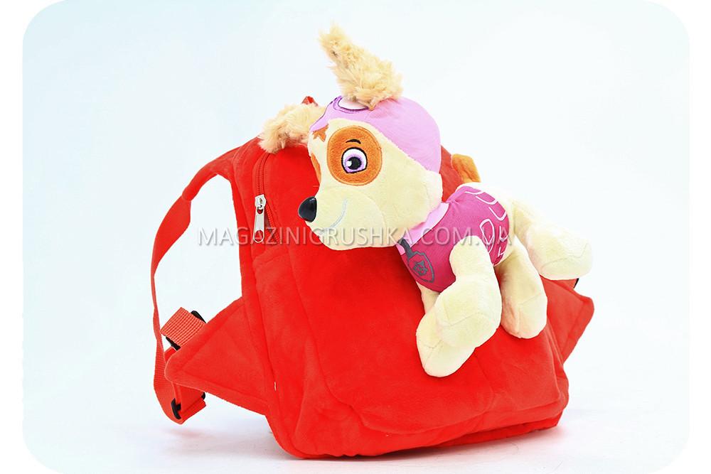 Рюкзак с игрушкой Щенячьего патруля - Скай BWDP002