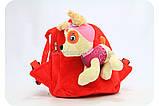 Рюкзак с игрушкой Щенячьего патруля - Скай BWDP002, фото 2