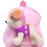 Рюкзак с игрушкой Щенячьего патруля - Скай BWDP002, фото 3