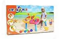 Игровой столик для песка и воды с набором аксессуаров 01-121-1