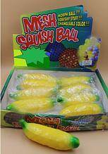 Антистресс игрушка Банан орбиз с хвостиком