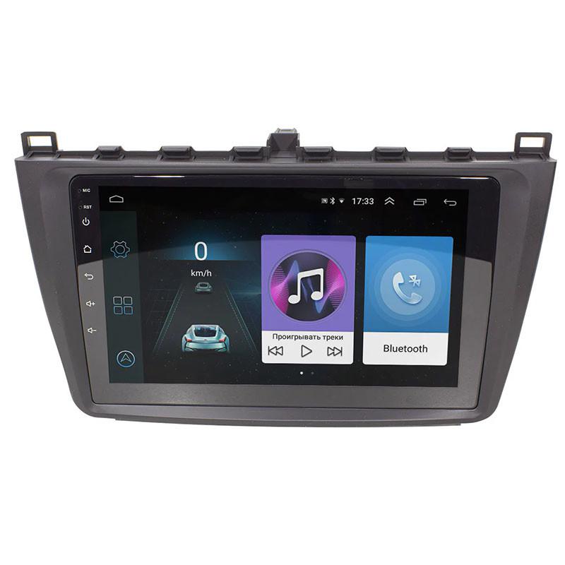 Штатна автомобільна магнітола Lesko для марки Mazda 6 (2015-2019гг.) пам'ять 1/16 Android GPS