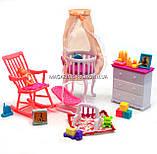 Детская игрушечная мебель Глория Gloria для кукол Барби Детская комната 9929. Обустройте кукольный домик, фото 2