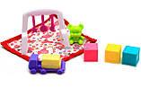 Детская игрушечная мебель Глория Gloria для кукол Барби Детская комната 9929. Обустройте кукольный домик, фото 5