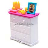 Детская игрушечная мебель Глория Gloria для кукол Барби Детская комната 9929. Обустройте кукольный домик, фото 6