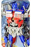 Трансформер-робот «Inter Change» - Оптимус Прайм (свет, звук, 45 см) 4106, фото 3