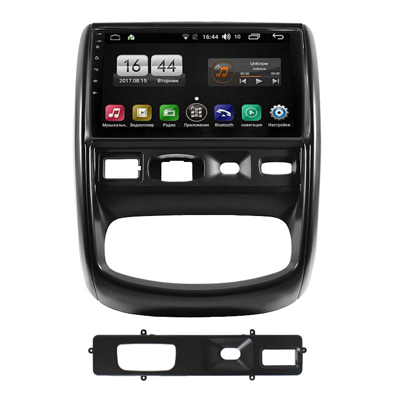 Штатная автомобильная магнитола Lesko для RENAULT Duster (2010-2014гг.) GPS 1/16 Гб Android Wi Fi