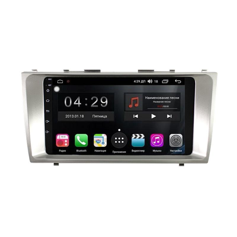 """Штатна автомобільна магнітола 9"""" Lesko для авто Toyota Camry V40 2006-2011 пам'ять 1/16 Гб Андроїд GPS Wi Fi"""