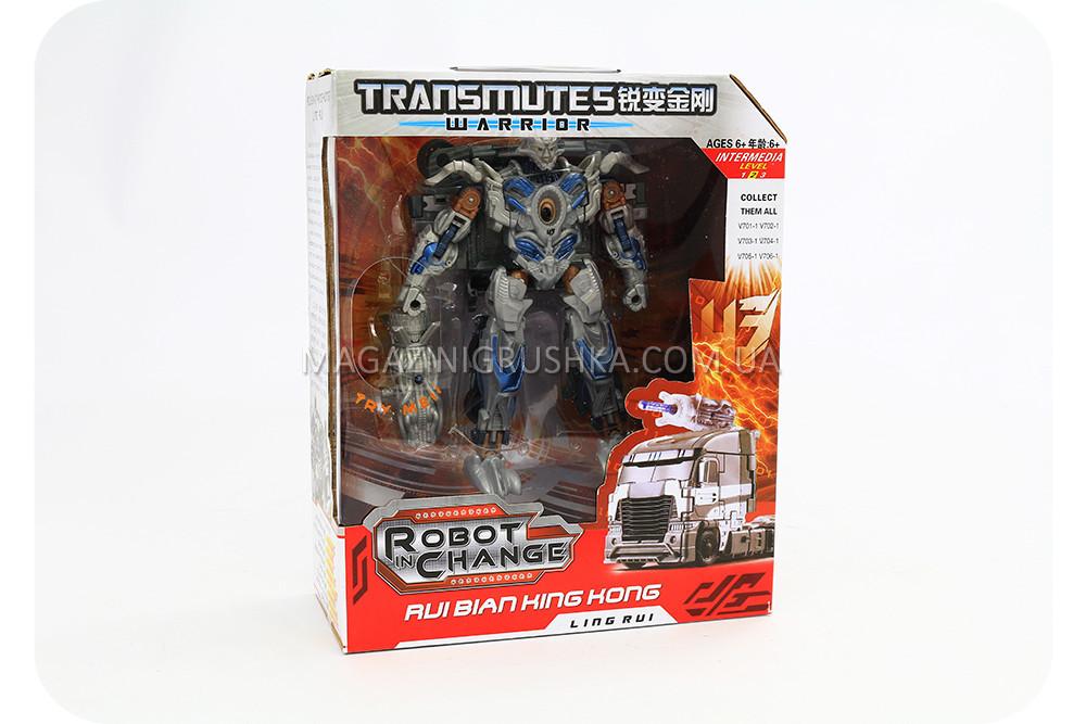 Трансформер-робот «Warrior» V702-1