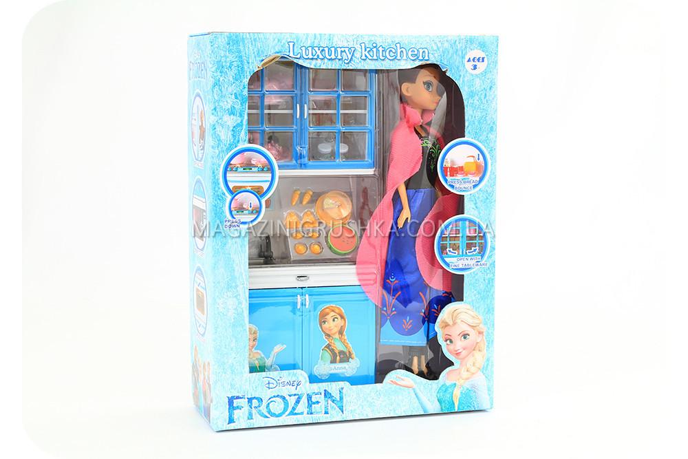 Кухня детская для кукол «Холодное сердце» с принцессой Анной X221H3