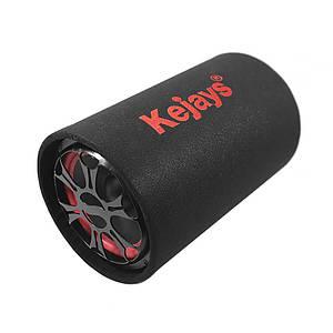 """Автомобільний сабвуфер Kejays 1017 круглий 10"""" TA82 USB microSD"""