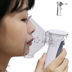 Ультразвуковий портативний інгалятор небулайзер Boxym N2 компактний ручний розпилювач медичний