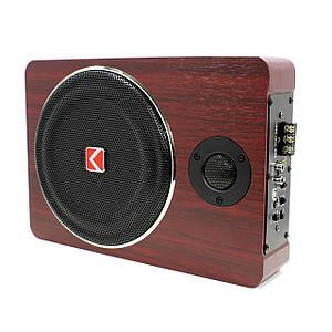 """Автомобільний сабвуфер 8"""" KUERL K-F806APR аудіо акустика 600 Вт активний"""