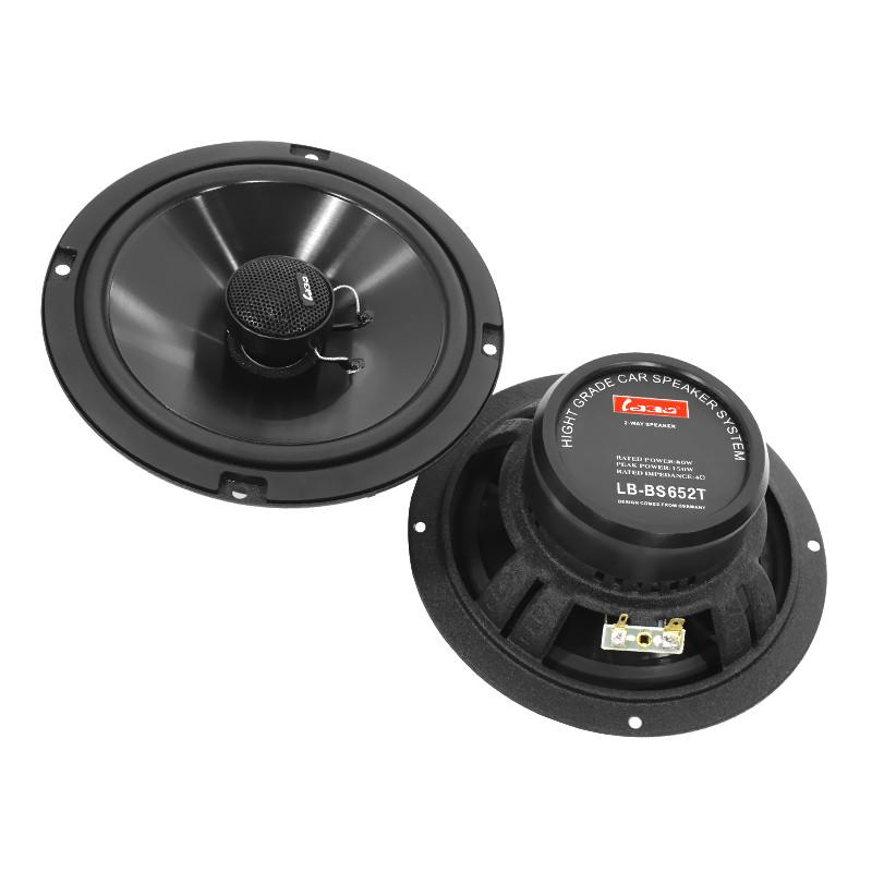 Автомобільна акустика Labo LB-BS652T 6.5-дюймові динаміки (16.5 см) потужність 150 Вт коаксіальна