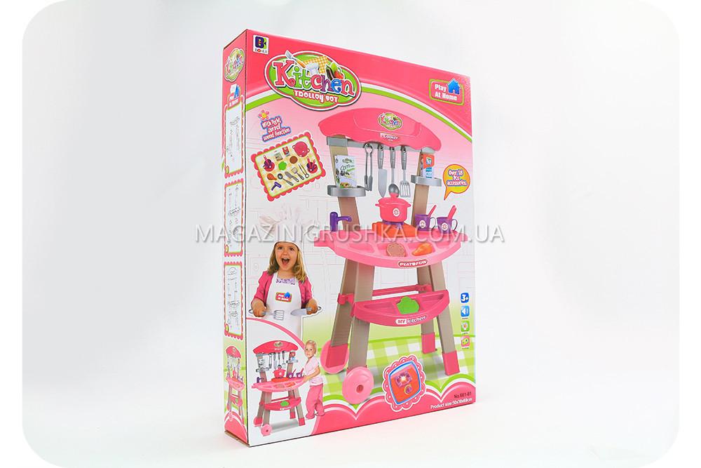 Набір дитячий «Кухня» (світло, звук, посуд, продукти) 661-81