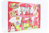 Набір дитячий «Кухня» (світло, звук, посуд, продукти) 661-81, фото 2
