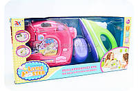 Игровой набор Little Master с утюгом и швейной машинкой (свет, звук) 6951C, фото 1