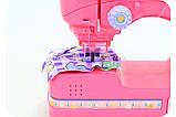 Ігровий набір Little Master з праскою і швейною машинкою (світло, звук) 6951C, фото 3