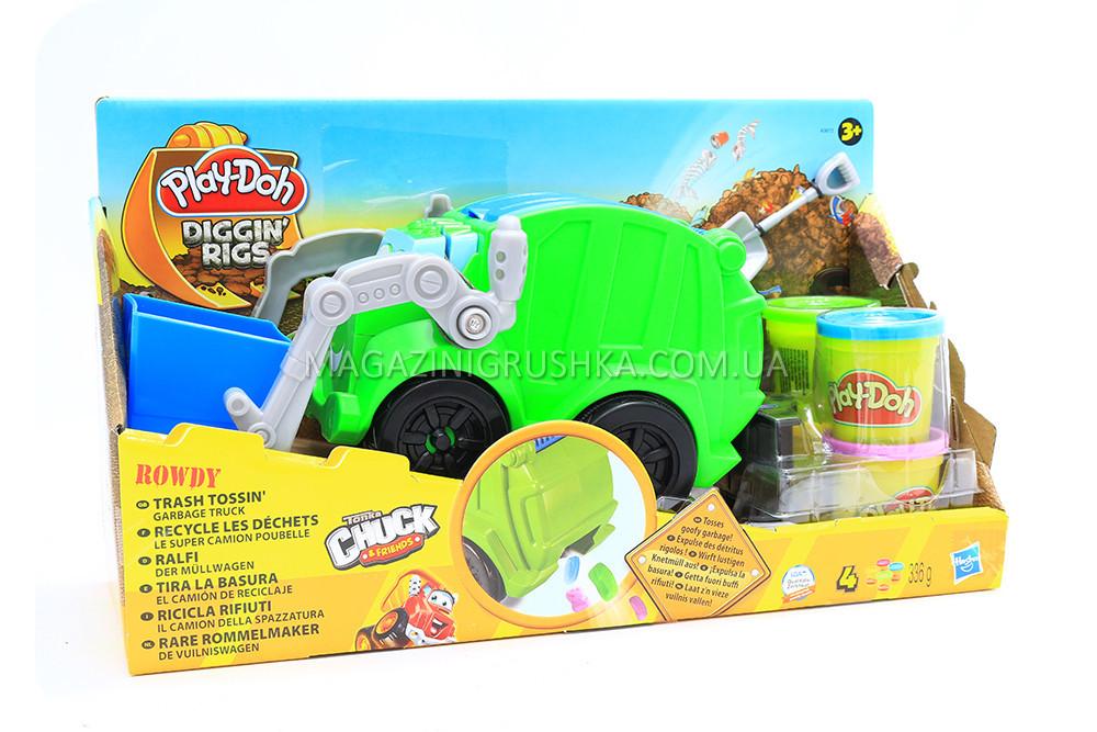 Набор пластилина Дружелюбный Рауди Play-Doh Hasbro
