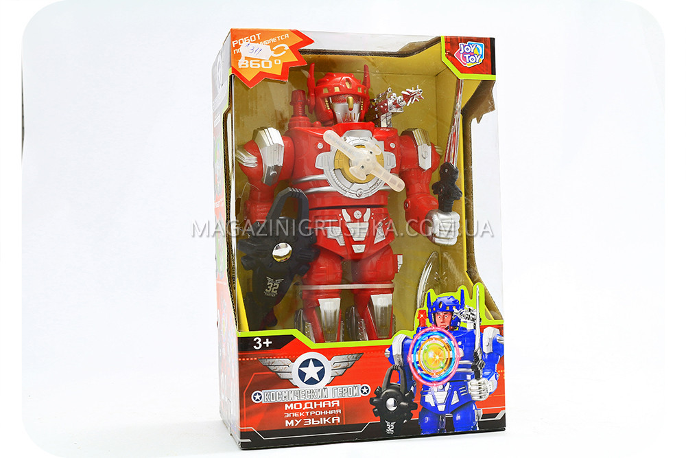 Робот «Космический герой» - игрушка для детей (свет, звук эффекты) 797-131