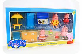 Дитячий ігровий набір «Свинка Пеппа на відпочинку» 805