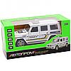 Машинка игровая автопром Mercedes Benz«Полицейский автомобиль» джип, металл, 15 (свет, звук) 7844-4