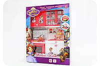 Кухня детская для кукол «Принцесса София» (свет, звук) QF 26214 SO, фото 1