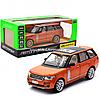 Машинка игровая автопром «Range Rover» джип, металл, 18, оранжевый (свет, звук, двери открываются) 68263A