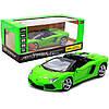 Машинка игровая автопром «Lamborghini avendador roadster», 18, свет, звук, зеленый (68274A)