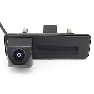 Штатна автомобільна камера заднього виду Lesko для Skoda Octavia 2010-2013р. паркувальна