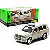 Машинка игровая автопром «Toyota» Тойота джип, металл, 18, Белый (свет, звук, двери открываются) 7690
