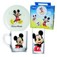 Набір Luminarc Disney Colors Mickey 3 предмета коробка дитячий