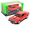 Машинка игровая Автопром «1970 Dodge Charger RT» Красный 18 (3211)
