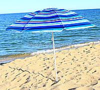 Зонт пляжный МН-0037 (диаметр - 1.8 м) - серебро, №4, фото 1