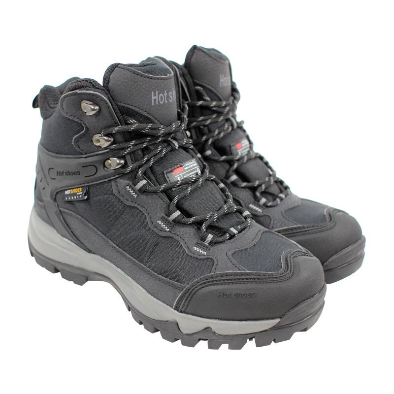 Мужские зимние ботинки HotShoes 911 Black 40 с подогревом подошвы на магнитной зарядке