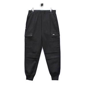Повсякденні штани Lesko 8076/ZY Black розмір 3XL однотонні штани чоловічі