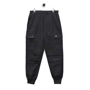 Повсякденні штани Lesko 8076/ZY Black розмір XL однотонні штани чоловічі